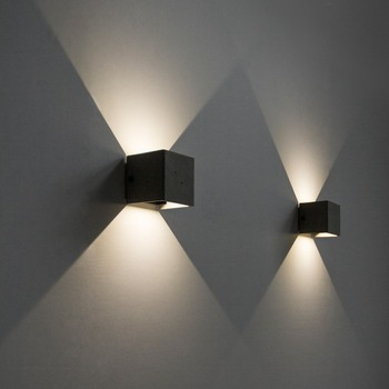 Outdoor V style Wall lamp cement product design by BENTU creative product design Outdoor Lamp