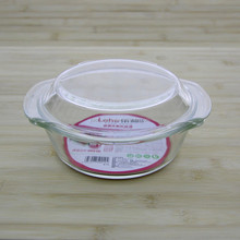 Microwave and oven safe heat resistant Borosilicate glass cookware