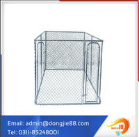 4x4x6ft Dog Kennel with Frame Top to Avoid sunshine,Rain and Snow, Professional Manufacture