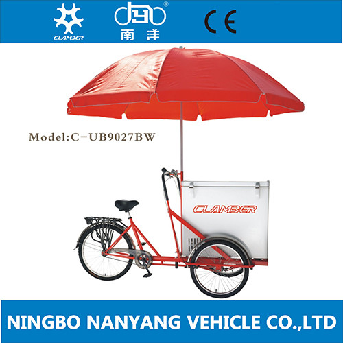 cheap ice cream cargo tricycle bike for sale