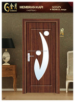 Glass Interior Pvc Door (top Quality,Quickly Lead Time.reasonable Price) GM-6025