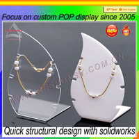 Buy acrylic necklace holder, acrylic jewelry display stand ...