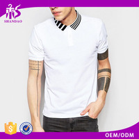 2016 Guangzhou Shandao Summer High Quality 200g 35%Cotton 65%Polyester Short Sleeve Bulk Clothing
