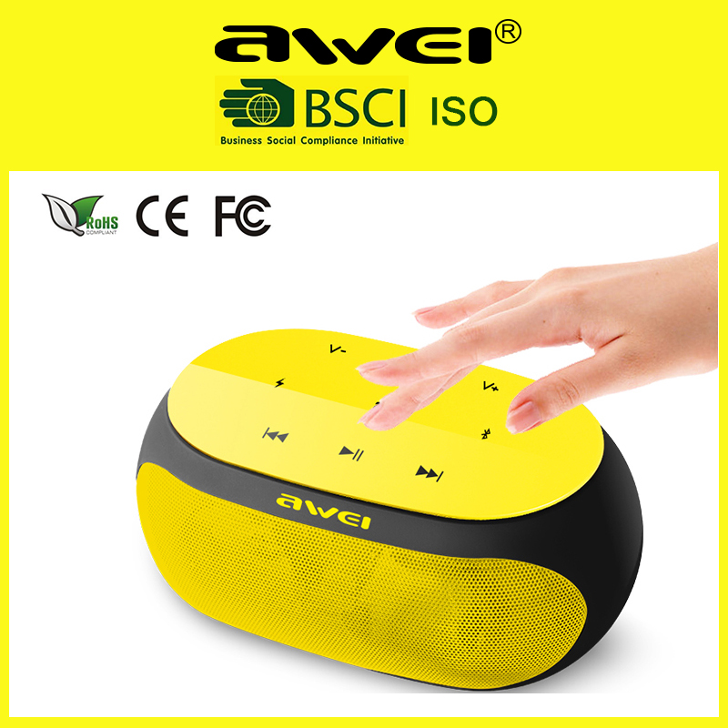 Universal 10W portable stereo bluetooth speaker for audio