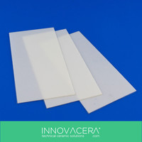 Low Thermal Conductivity Zirconium Oxide/Zirconia Ceramic Plate/Mobile Phone Back/INNOVACERA