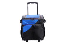 Cheap Outdoors Camping Picnic Insulated Bag Cooler Trolley with Wheels