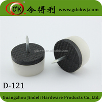 Double-layer tack glides for furniture,cabinet tack nails D-121