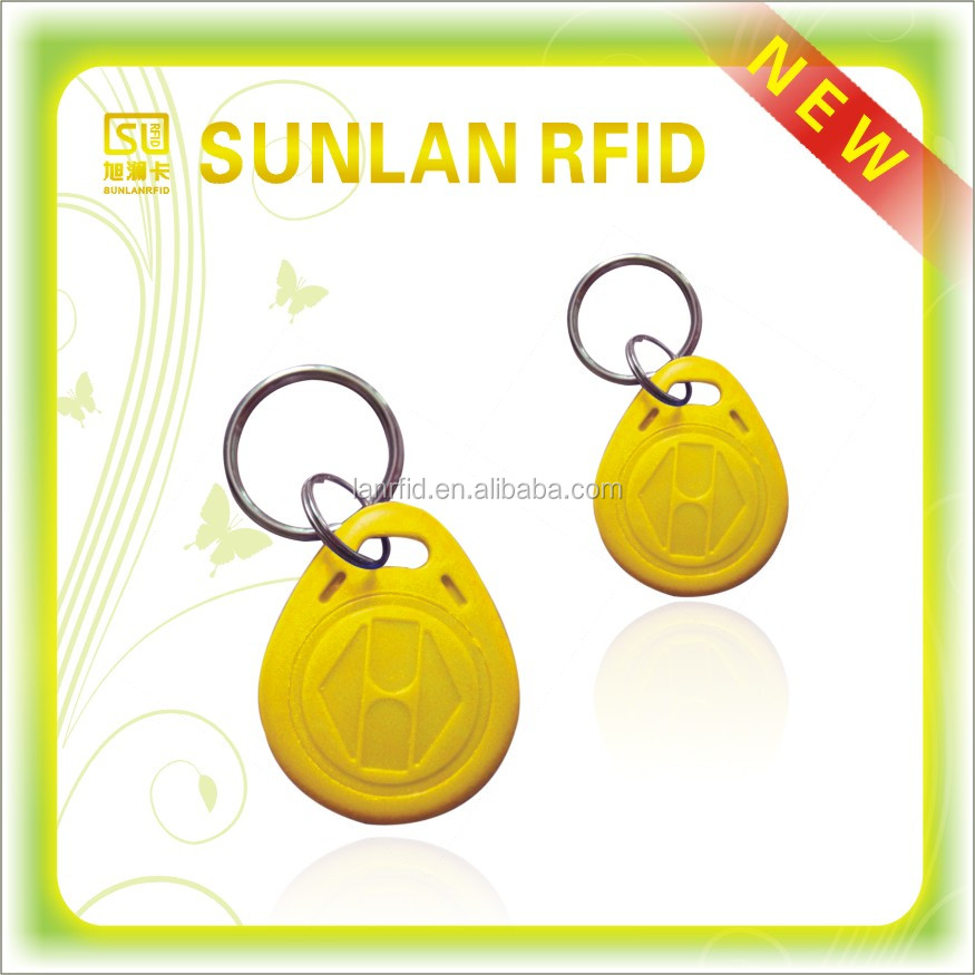 Special offer RFID 125khz EM4210 ABS access control hotel key tag