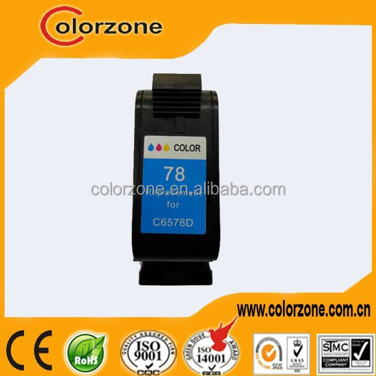 High Quality Compatible for original hp 6578d ink cartridge with 2 years warranty