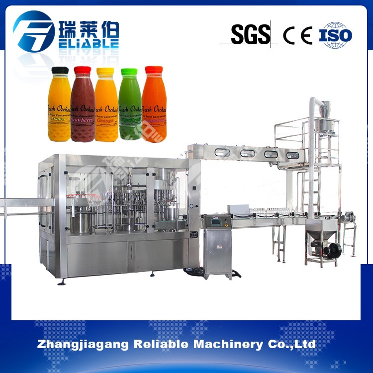Automatic Juice Hot Filling Machine Reliable Fresh Juice Filling Machine