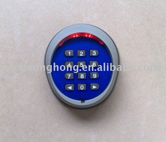 Keypad for garage door