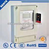 DTSY7666 Type three phase electrical digital electric meter reverse electric motor rpm meter