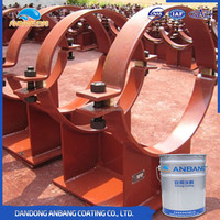ABW368 epoxy micaceous iron water based paint for metal component