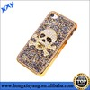 bling phone case,Diamond SKull Case For iPhone 5