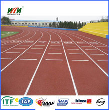 IAAF approved Spray-Coat rubber Running Track paint EPDM Granules jogging Track