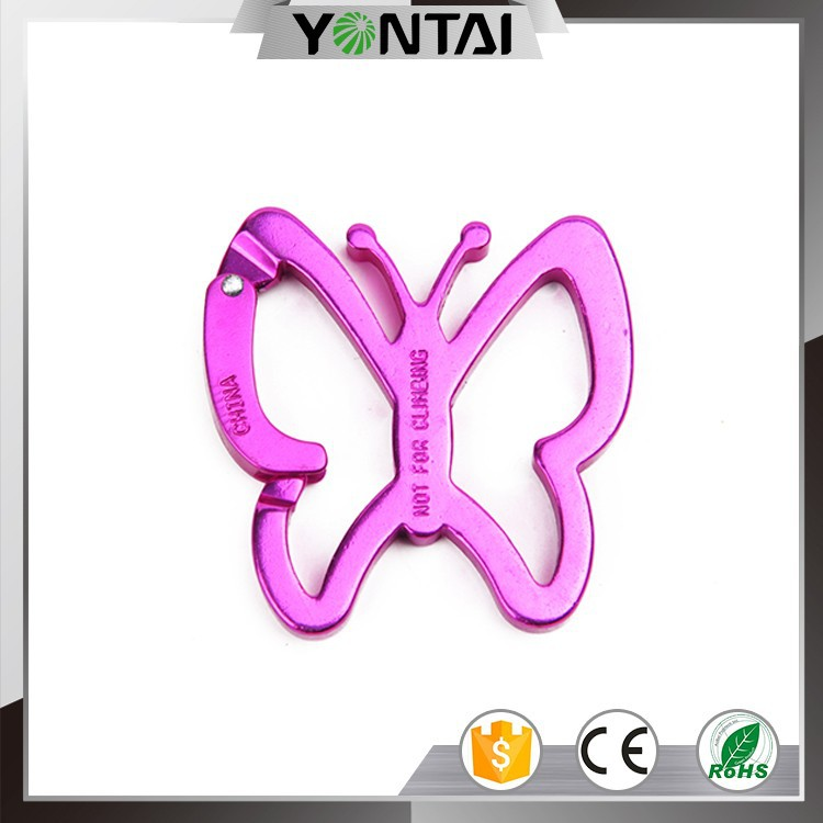 china wholesale jewelry swivel carabiner hook