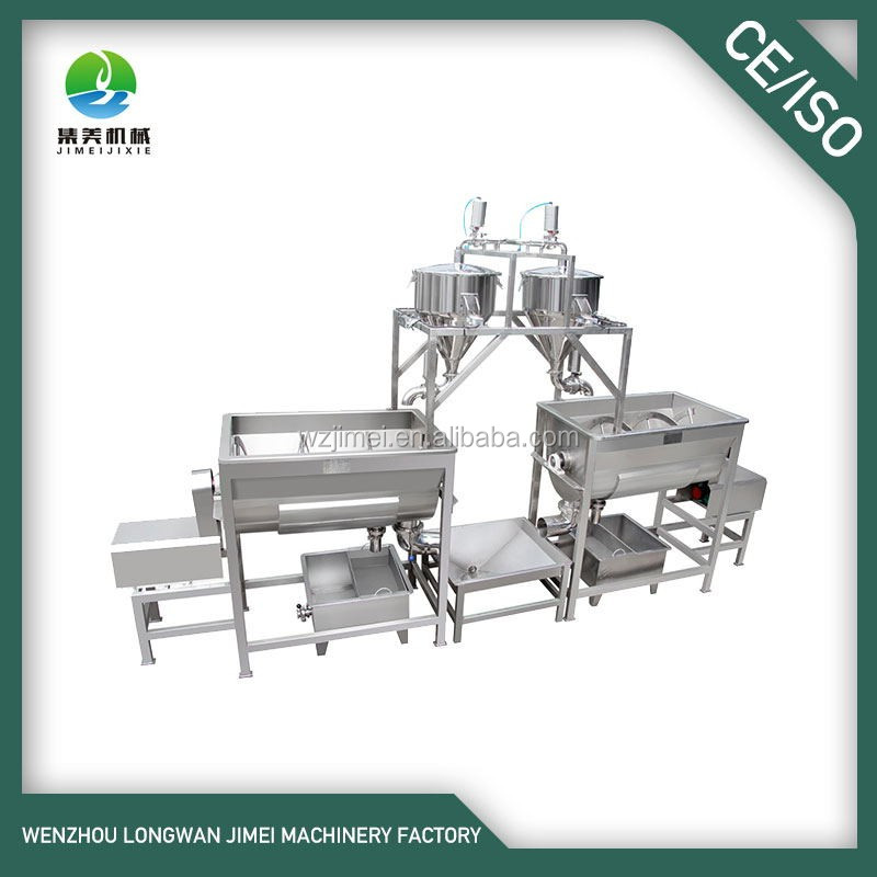 high efficiency pepper /chilli sauce mixer grinder making machine