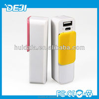 2013 Cute power bank charger 2600mAh for smartphone