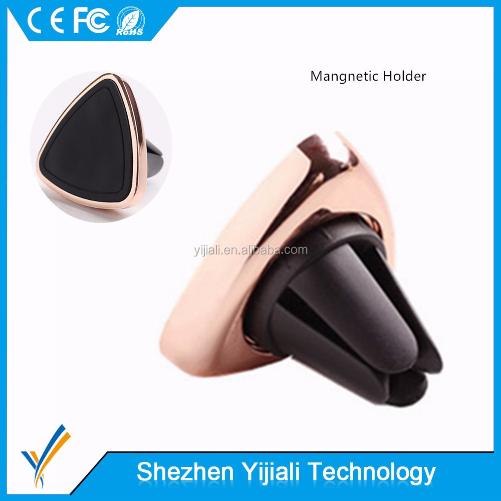 360 Degree magnetic mobile car phone holder for car air vent