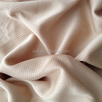 100% polyester dty bird eye dry fit knit mesh fabric