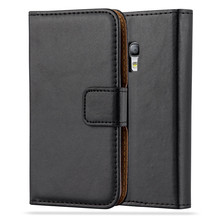 PU leather phone case for Samsung galaxy s3 mini ,card holder leather case for Samsung galaxy s3 mini