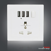 factory direct for universal usb wall socket,universal socket outlet