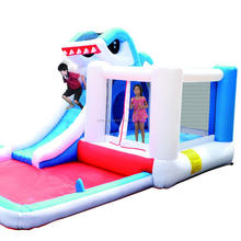 inflatable water slide/ bouncy castle with slide