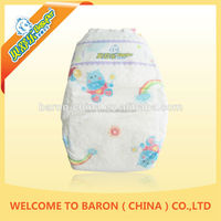 Economic Baby green soft super dry large quantity diapers