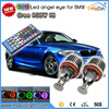 Newsun new products 20W RGBW color changing angel eyes halo light error free H8 LED fog light for bmw e90 328i, 328xi, 335d led