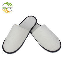 Discount sale coral fleece white pedicure slippers for ladies