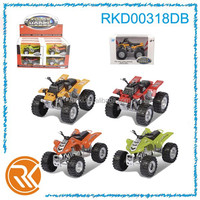 Diecast friction beach motorcycle models toy