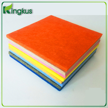 Polyester wool fabric/geotextiles for construction/needle punched non woven fabric Acoustic board