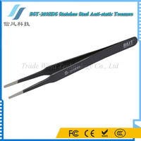 BST-203 ESD Stainless Steel Toughened High-grade Anti-static smart Tweezer