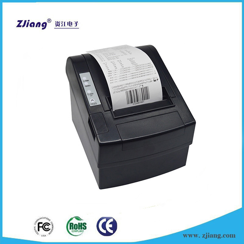 Auto Cutter Pos Print 80mm Thermal Receipt Printer USB / Bluetooth Pos Printer For Laptop PC Smart Phone