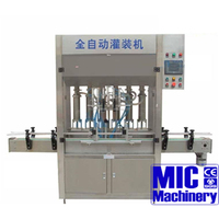 MIC - shampoo/liquid/ liquid soap/syrup/comestic cream/cream/pasty/tomato/chili sauce 12 heads filling machine line