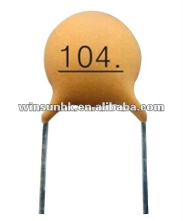 Low Voltage Ceramic Disc Capacitor