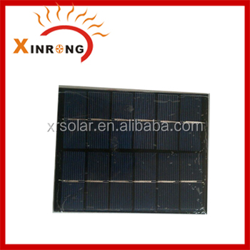 2W 6V Epoxy Resin Mini Solar Panel
