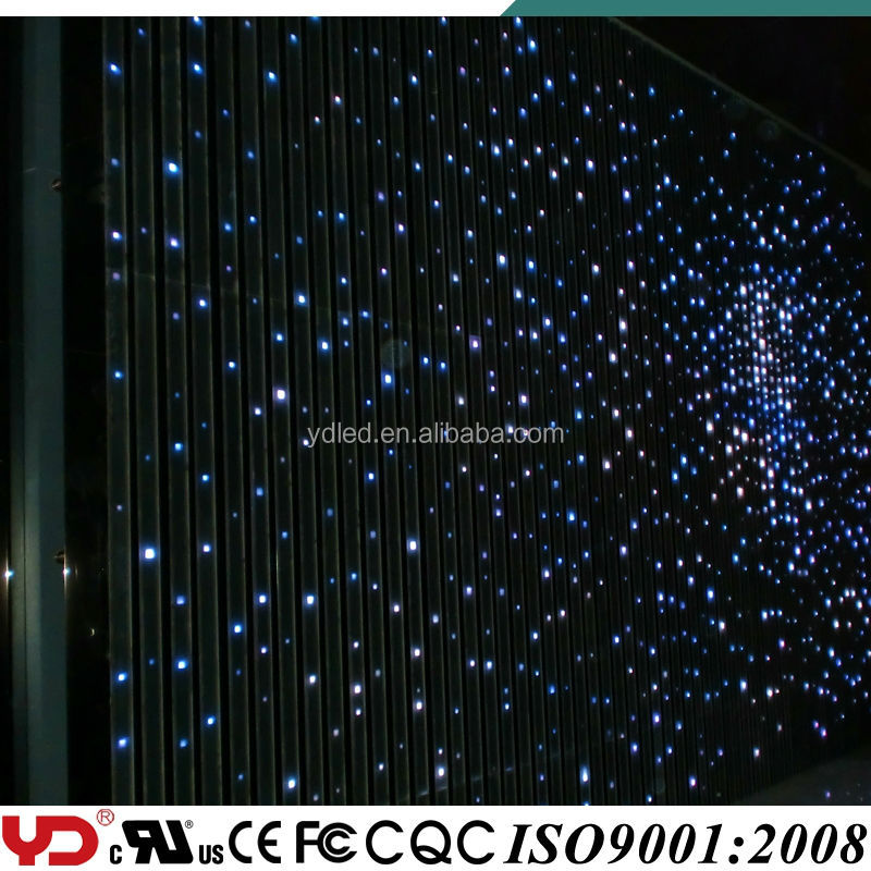 YD outdoor LED star light for christmas lighting show and decorative lighting