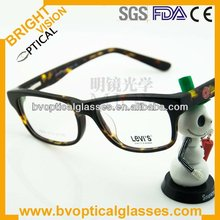 Bright Vision 5205 Unisex directly sale Italy design acetate glasses factory