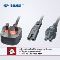Moulded UK MAINS 13 Amp Plug ,3 pin 13 amp electrical plug,uk standard ac power cord