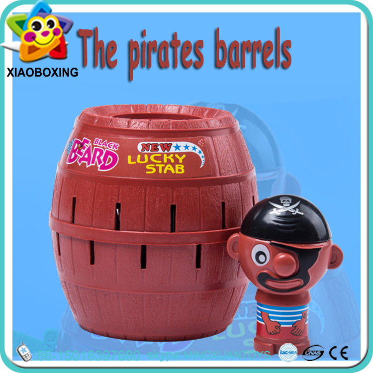 Funny educational pop up pirate bucket toy games for adults