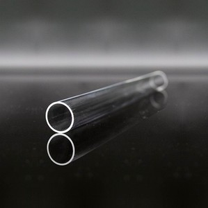 Jiangsu Pacific quartz sell to Russia quartz 10mm transparent clear fused quartz glass tube