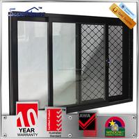 office sliding glass window and door double glass meet Australia standard