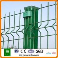 Security Protection Metal Railway Fence