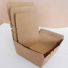 Free logo disposable rice salad usage paper machine made lunch box