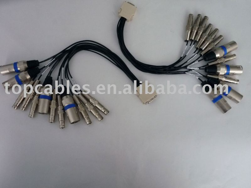20PIN SCSI TO XLR & BNC cable