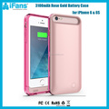 2016 Brabd New Products 3400mAh Rechargeable Battery Case for iPhone 6 6S,MFi Certified for iPhone 6 Case