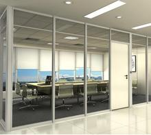 Cheap used office full height glass wall partitions in USA wholesale