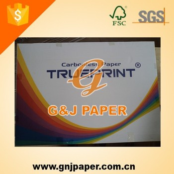 787X1092mm Blue Image 3-ply Carbonless Copy Paper Price