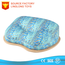 Sea Pattern Printing Portable Phone Laptop Desk Pillow Micro Beads Laptop Tray Cushion Blue Plush Tablet Table With Pillow